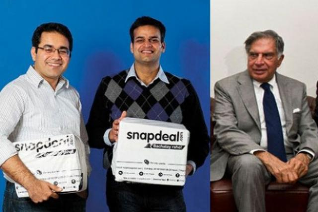 Indian E-commerce Market Gets Hotter, Ratan Tata Invests in Snapdeal after Housing Deal